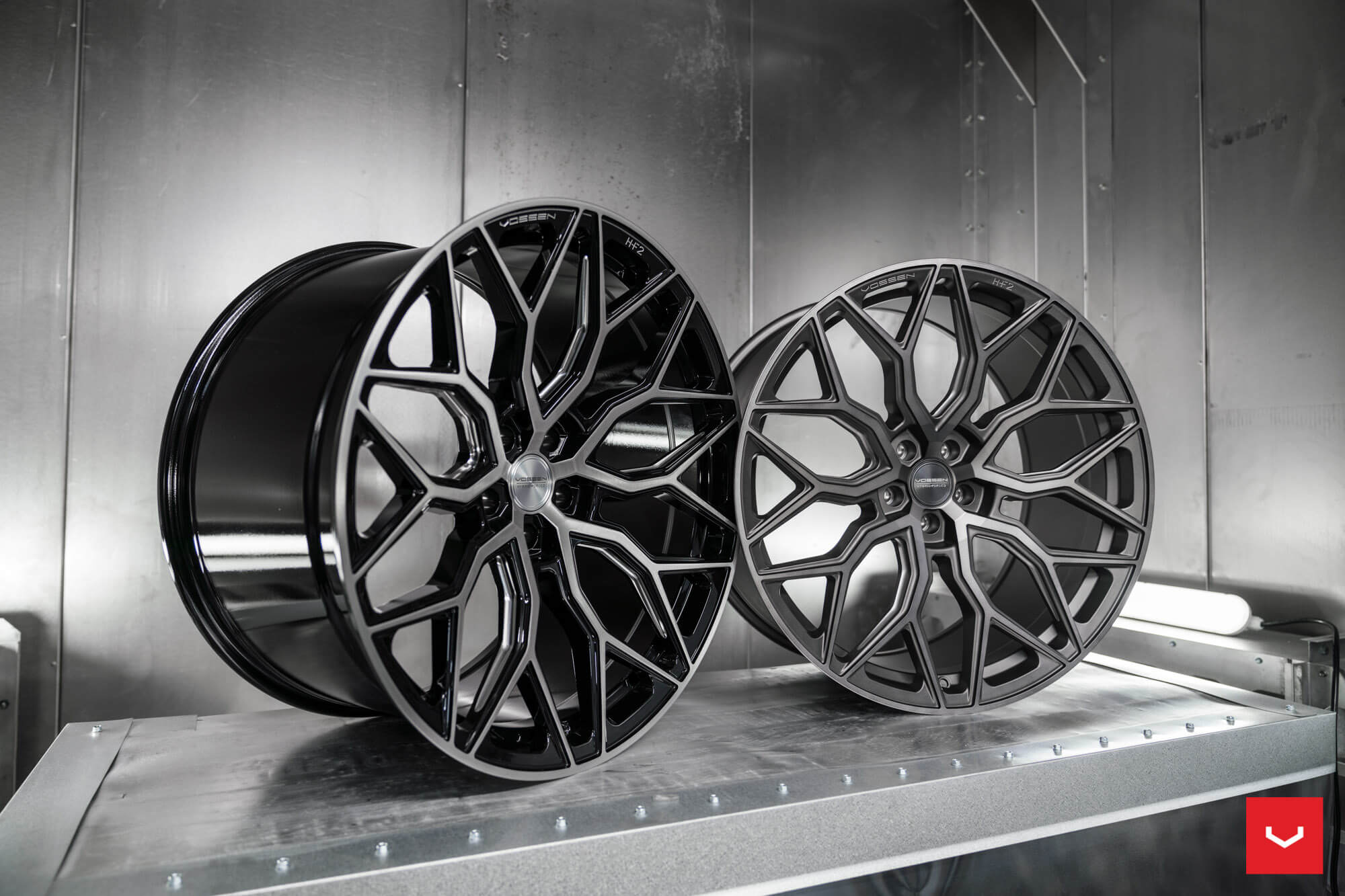 Vossen Forged wheels side by side