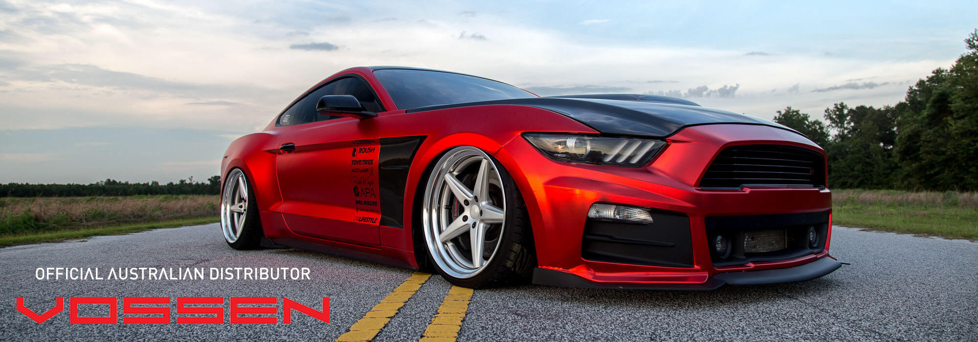 Vossen Wheels on Ford Mustang