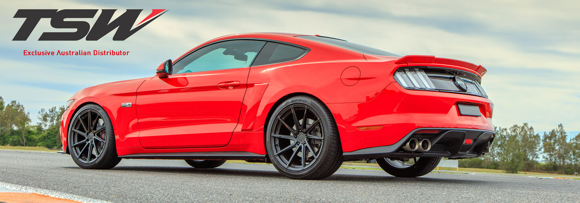 TSW Circuit on Ford Mustang